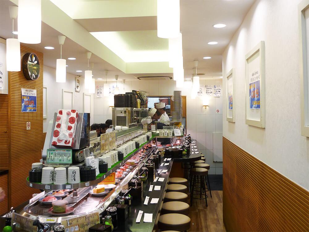 江戸前回転寿司もり一 松戸東口店 '13